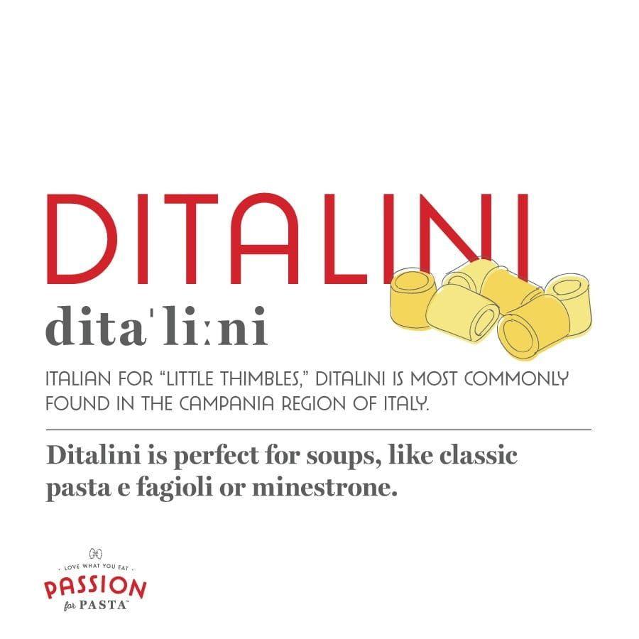 Ditalini Graphic
