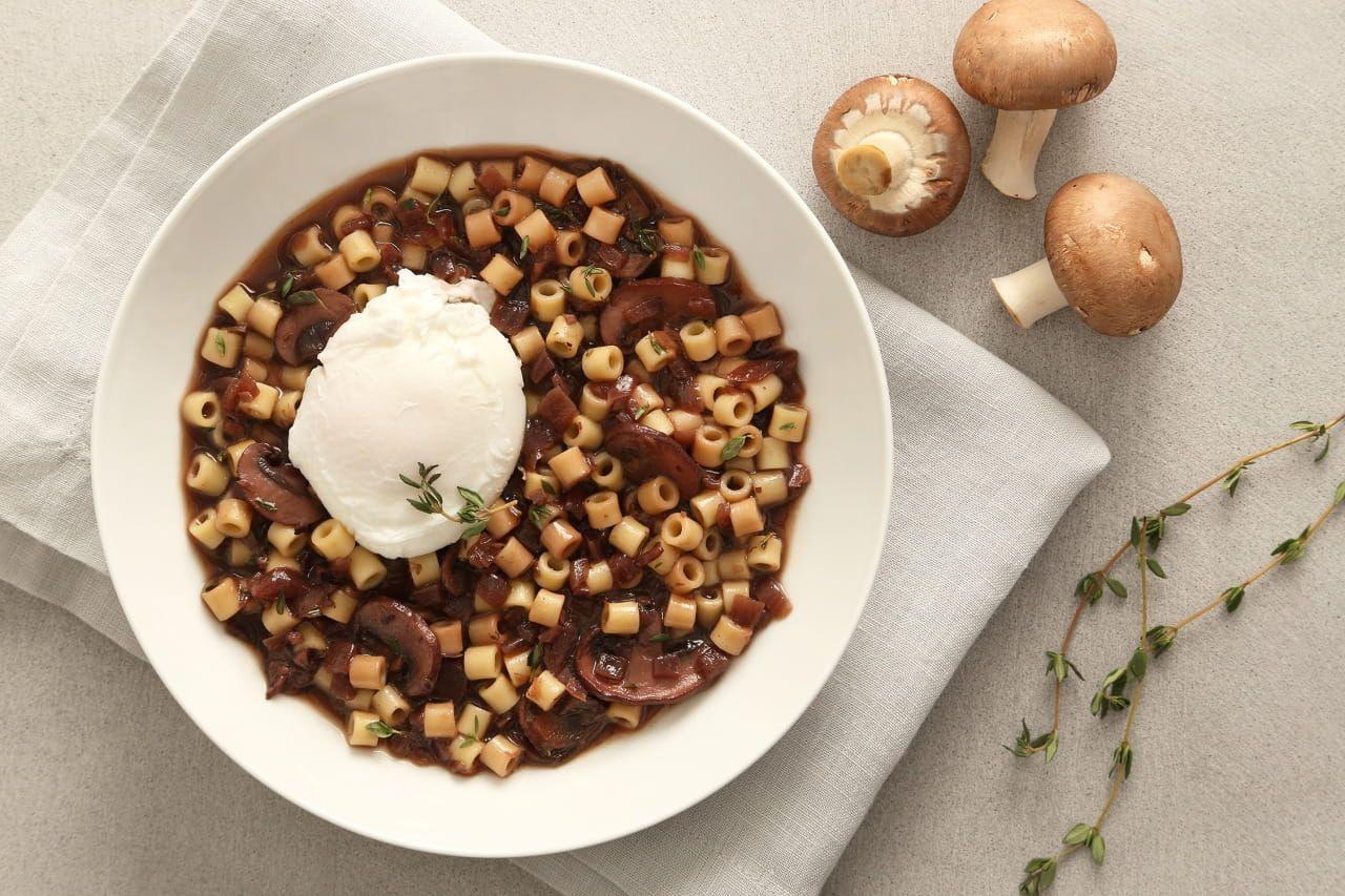 Ditalini Pasta with Mushroom Ragu Recipe