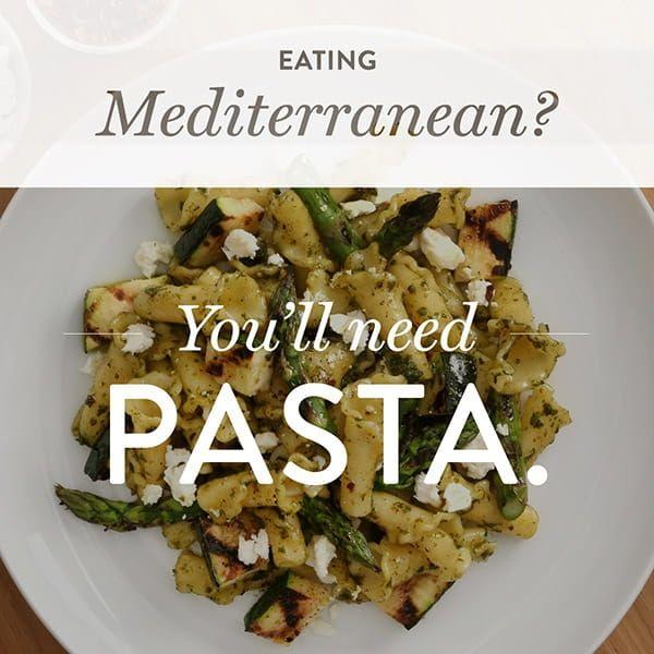 Pasta & Mediterranean Diets