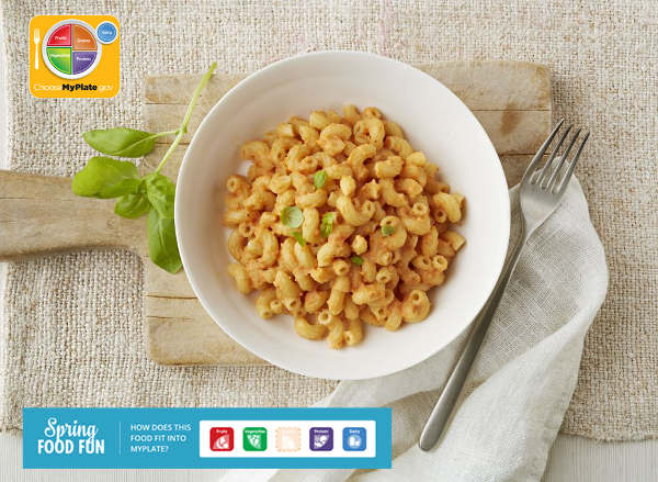 Tomato Basil Sweet Potato Mac and Cheese Recipe