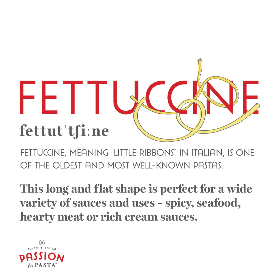 Fettuccine Graphic