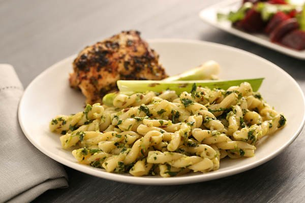 Gemelli Pasta Recipe Ginger Harissa Grilled Chicken