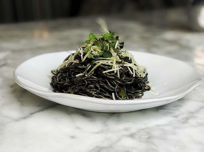 huitlacoche spaghetti recipe