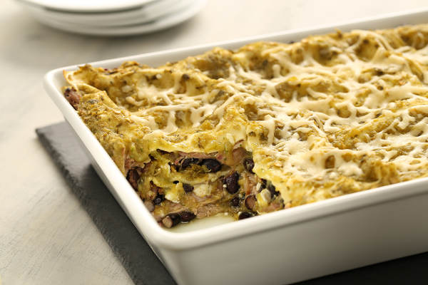 Spicy Lasagna Recipe with Pork & Green Chili Cumin