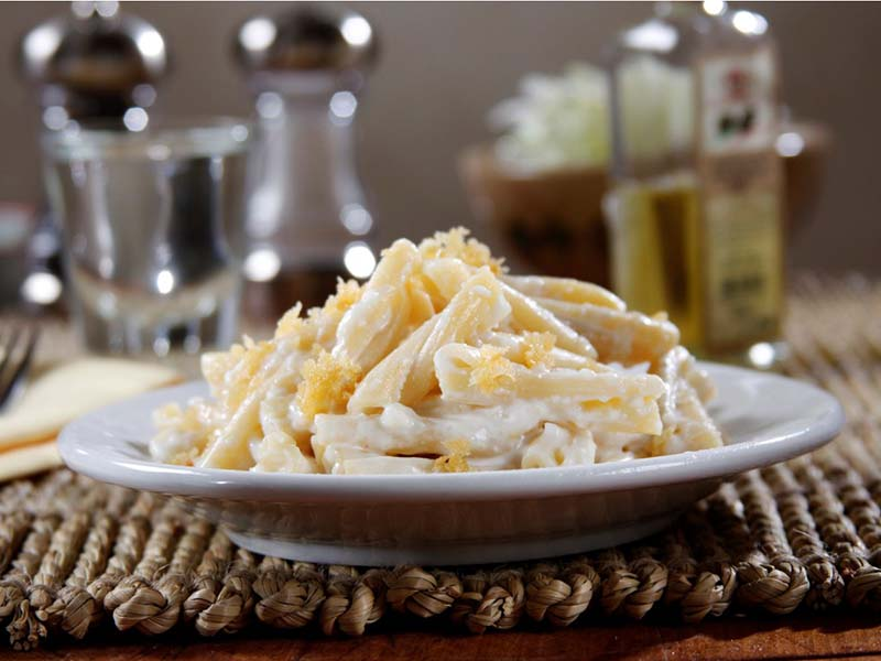 Casarecce with Italian Cheeses and Truffle Oil Recipe