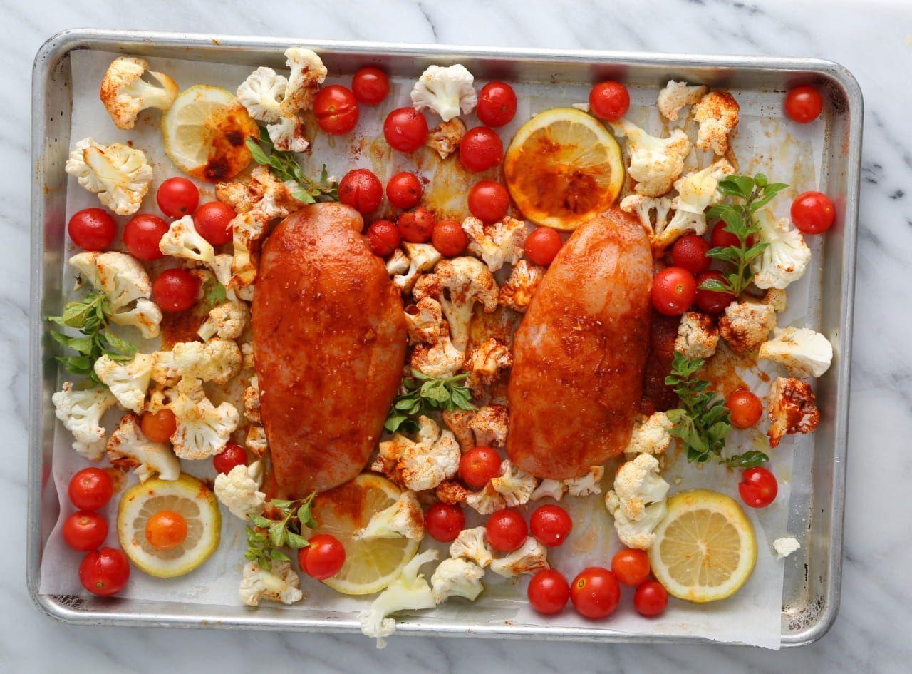 Gluten-Free Fettuccine with Mediterranean Chicken