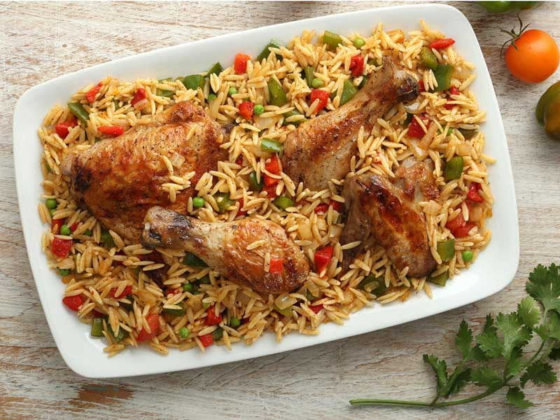 Orzo Con Pollo Recipe