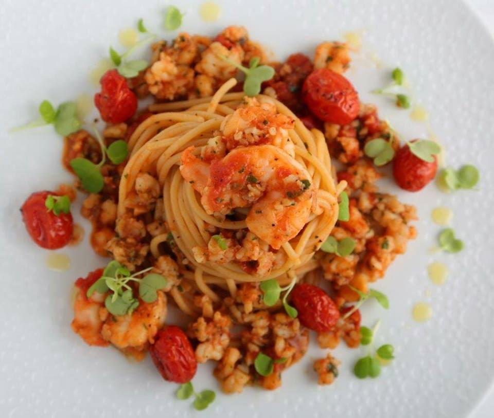 Spaghetti with Shrimp Ragout Recipe