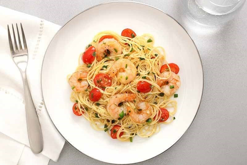 Shrimp Diablo Angel Hair Pasta Recipe