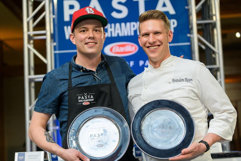U.S. Qualifying Event Winner for the Pasta World Championship