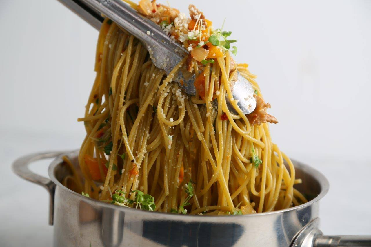 Veggie Spaghetti Recipe with Butternut Squash