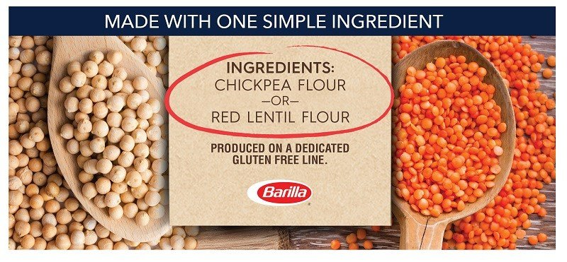 Barilla Legume Pasta One Simple Ingredient
