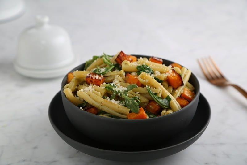 Barilla Collezione Casarecce Pasta with Butternut Squash and Creamy Genovese Basil Pesto
