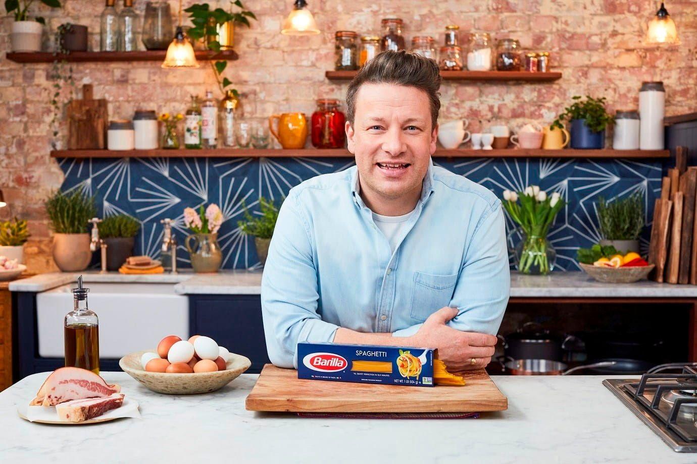 Jamie Oliver Carbonara Barilla Spaghetti