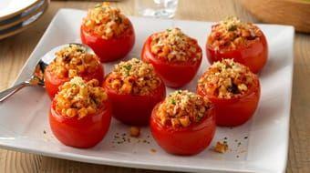 Ditalini and Olive Stuffed Tomatoes Recipe