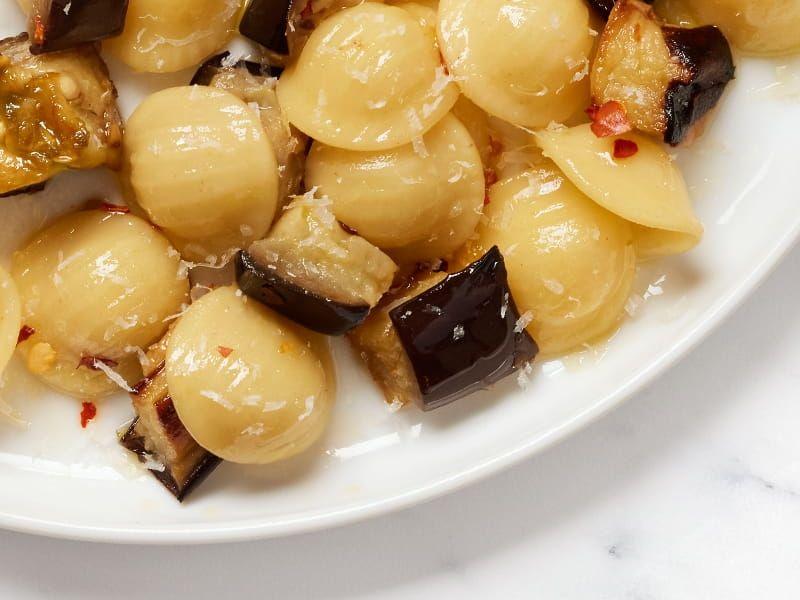 Collezione Orecchiette with eggplant