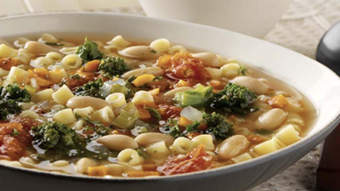 Ditalini & White Bean Soup
