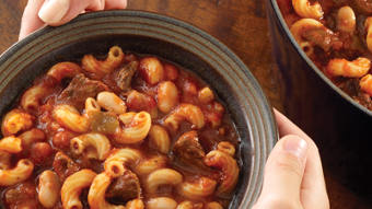 Hearty Pasta e Fagioli