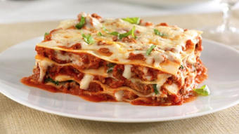 Oven-Ready Lasagna with Ground Beef