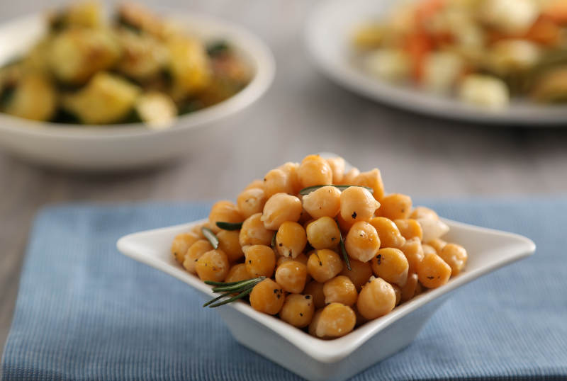 New York City Food Bank event chickpeas recipe