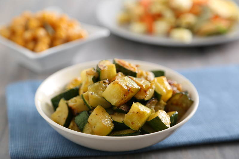 New York City Food Bank event zucchini recipe