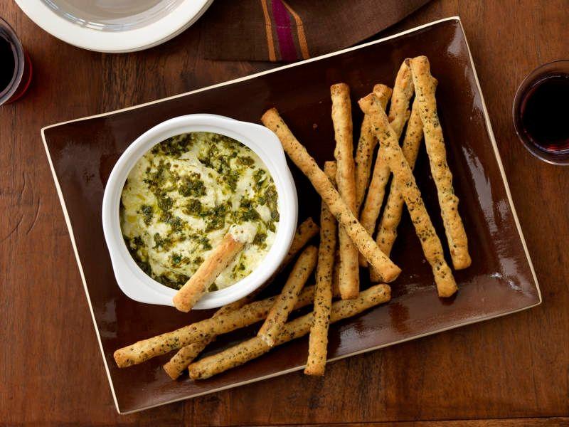 Pesto Ricotta Provolone Dip recipe