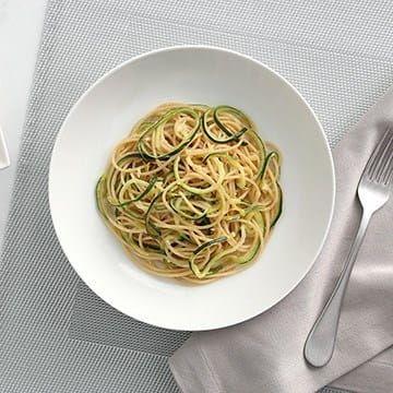 PLUS Spaghetti Zucchini Roasted Garlic