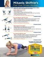 Mikaela Shiffrin workout routine