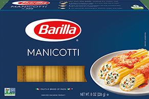 Barilla Blue Box Manicotti Pasta
