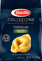 Barilla Collezione Cheese and Spinach Tortellini Pasta