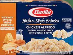 Barilla Italian Style Entree Chicken Alfredo