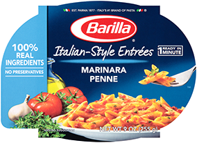 Barilla Italian Style Entree Marinara Penne