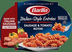 Barilla Italian Style Entree Sausage & Tomato Rotini