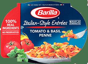 Barilla Italian Style Entree Tomato & Basil Penne