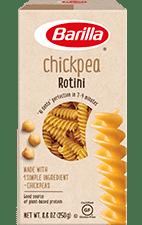 Barilla Chickpea Rotini pasta package