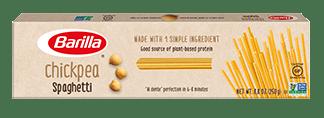 Barilla Chickpea Spaghetti pasta package