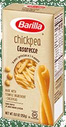 Barilla Chickpea Casarecce Pasta Box