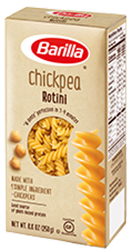 Barilla Chickpea Rotini Pasta Box