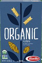 Barilla Organic Rotini pasta