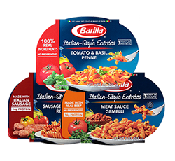 Barilla Italian Style Entree packages
