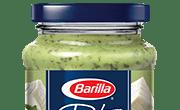 Barilla creamy ricotta and basil pesto jar