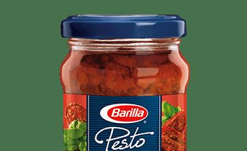 Barilla Sun-dried Tomato Pesto jar