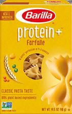 Barilla Protein+™ Farfalle Pasta Package