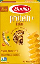Barilla Protein+™ Rotini pasta package