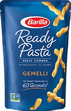 Ready Pasta Gemelli new label removed