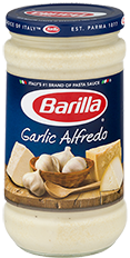 Barilla Garlic Alfredo sauce