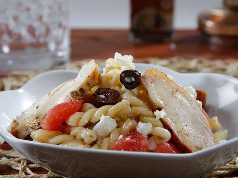 Barilla gemelli pasta salad recipe with pan roasted chicken