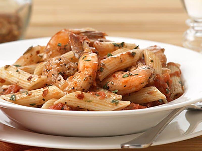 Penne Shrimp Fra Diavolo recipe