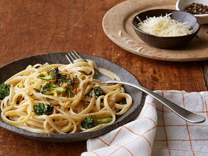 barilla pasta alfredo with pistachio
