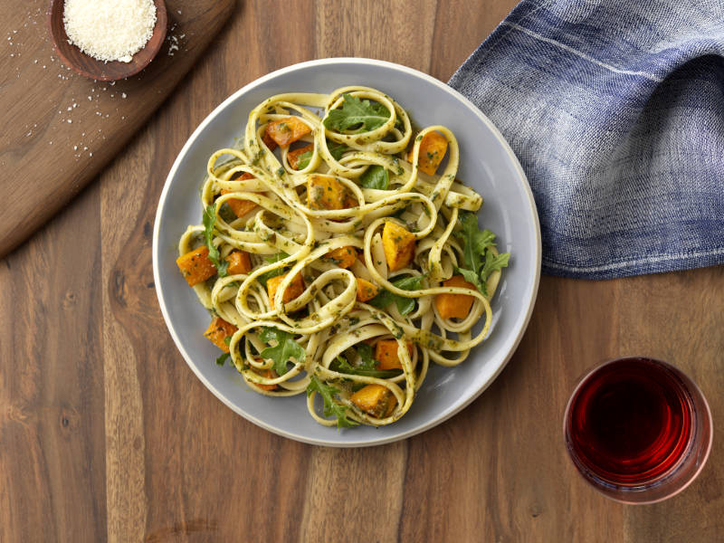 Fettuccine with Barilla Basil Pesto recipe